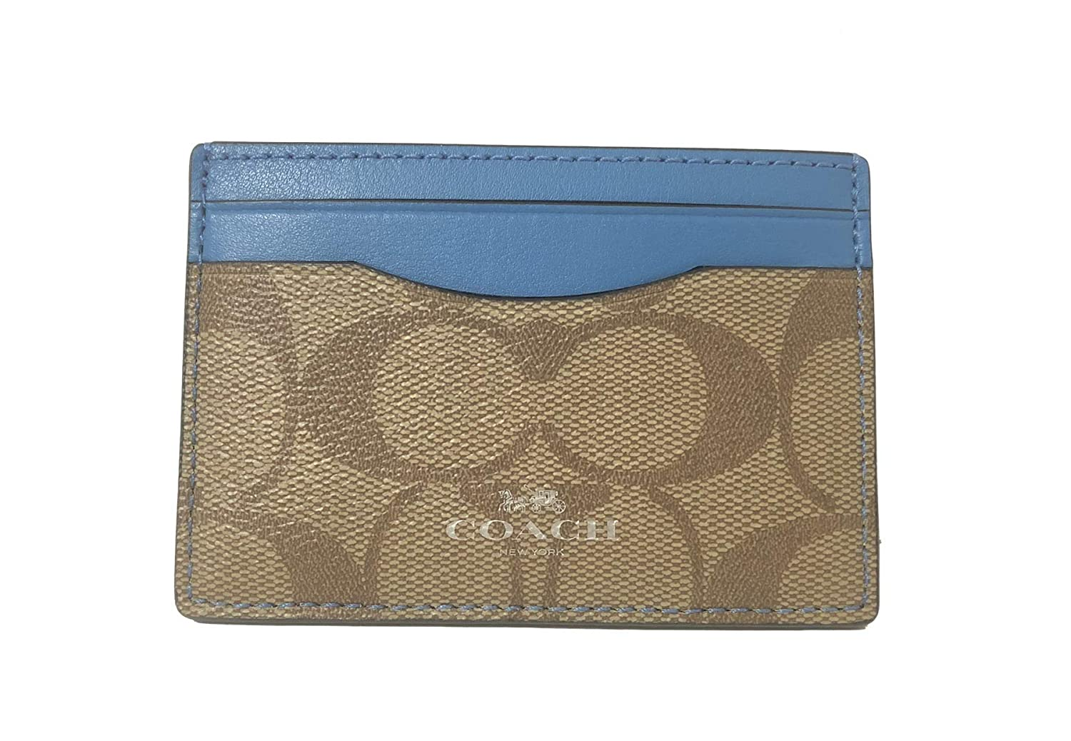 Coach Signature PVC Card Case F63279IMAA8