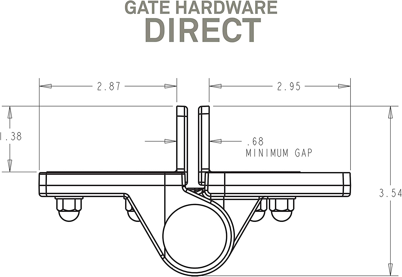 Nylon Spring Loaded gate Hinges I ABGA-Hinge-LM