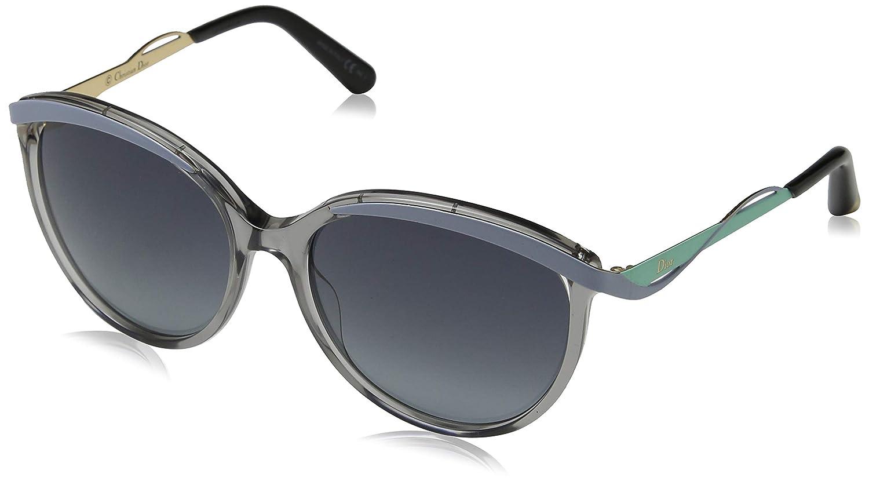 Dior DIORMETALEYES1 HD NE4 Gafas de Sol, Gris (Transp Blue ...