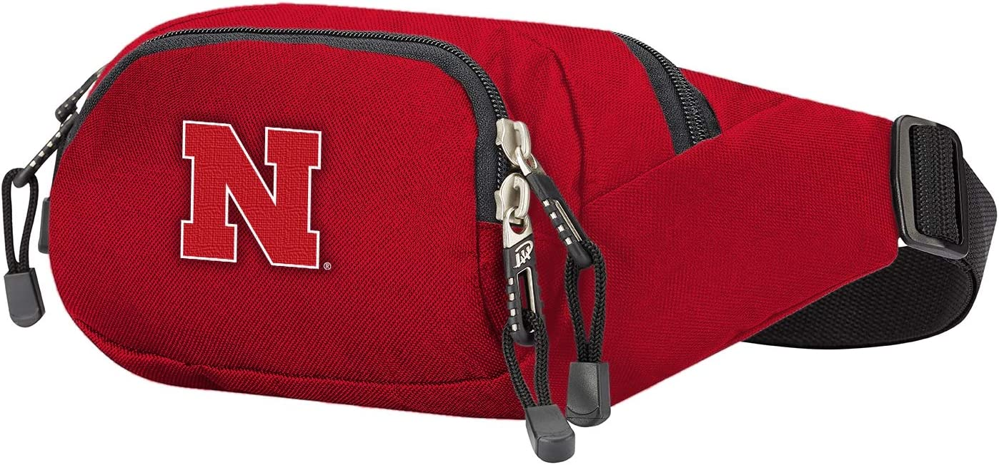 13 x 5 x 5 Officially Licensed NCAA Cross-Country Belt Bag Multi Color