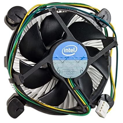Intel E97379-001 Core i3/i5/i7 Socket 1150/1155/1156 4-Pin Connector CPU  Cooler With Aluminum Heatsink and 3 5-Inch Fan For Desktop PC Computer