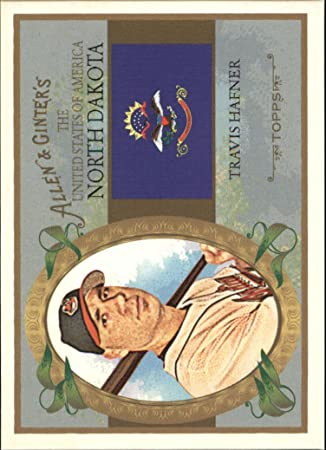 2008 Topps Allen and Ginter United States #US34 Travis Hafner at Amazons Sports Collectibles Store
