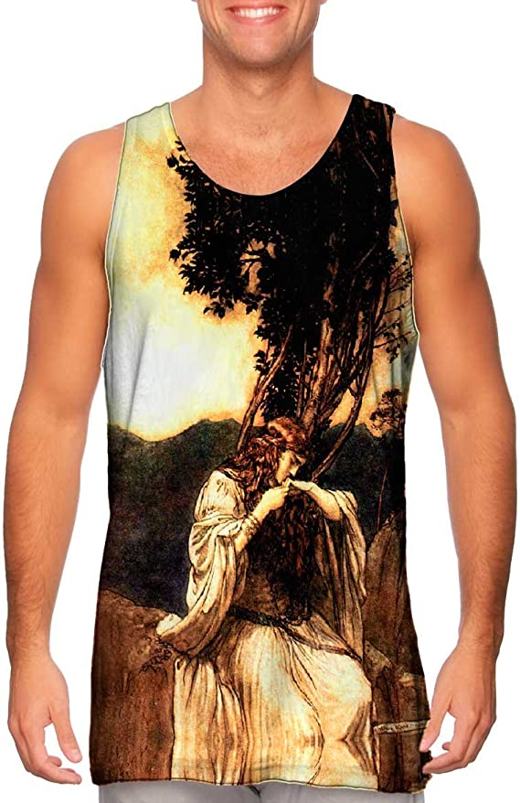 Yizzam Mens Tank Top 2375 John William Waterhouse La B.-Tshirt