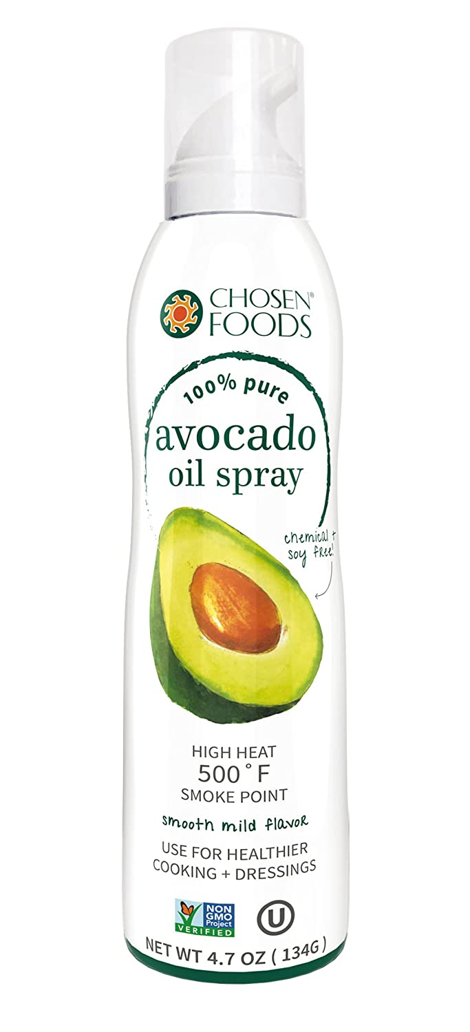 Chosen Foods Aceite de Aguacate% en Spray - 140 ml: Amazon.es: Alimentación y bebidas