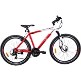 UT HT3 26T 21 Speed Junior Cycle  19.5-inches (Red & White)