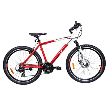 Buy Ut Ht3 26t 21 Speed Junior Cycle 19 5 Inches Red White