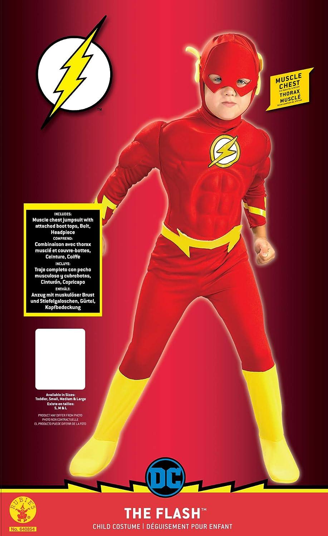 Rubies 640854M DC - Disfraz para niños, 5-6 años: Amazon.es ...