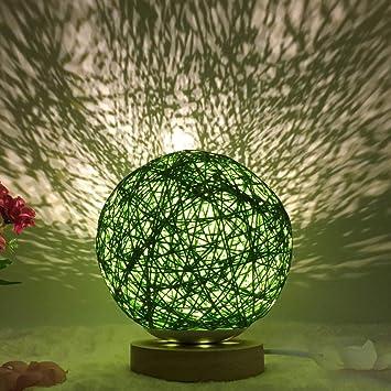 Mesita de Noche proyector de Estrella romántica luz de Noche ...