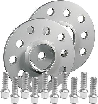 Silverline Spurverbreiterung 20mm 10mm Mit Schrauben Silber 5x112 57 1mm 12118e 78 M1415ku38s Auto