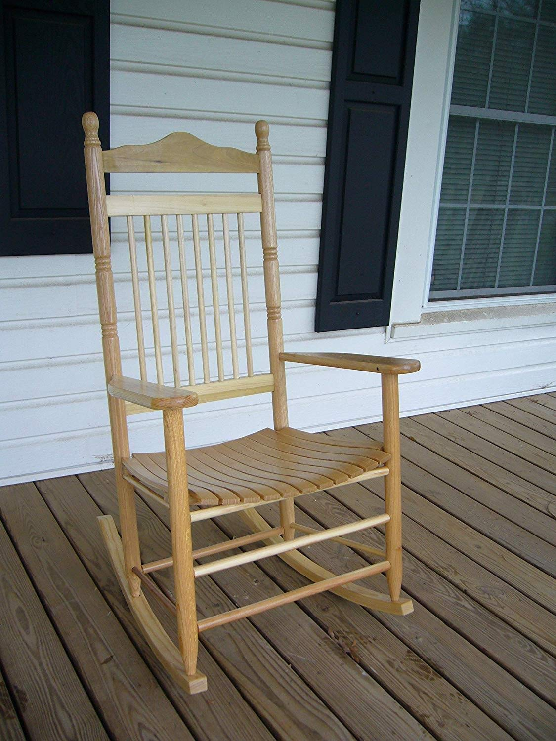 Dixie Seating Calabash Wood Rocking Chair No. 467SRTA Unfinished