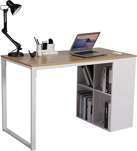 WOLTU Mesa Escritorio de Computadora Mesa de Oficina Mesa de ...