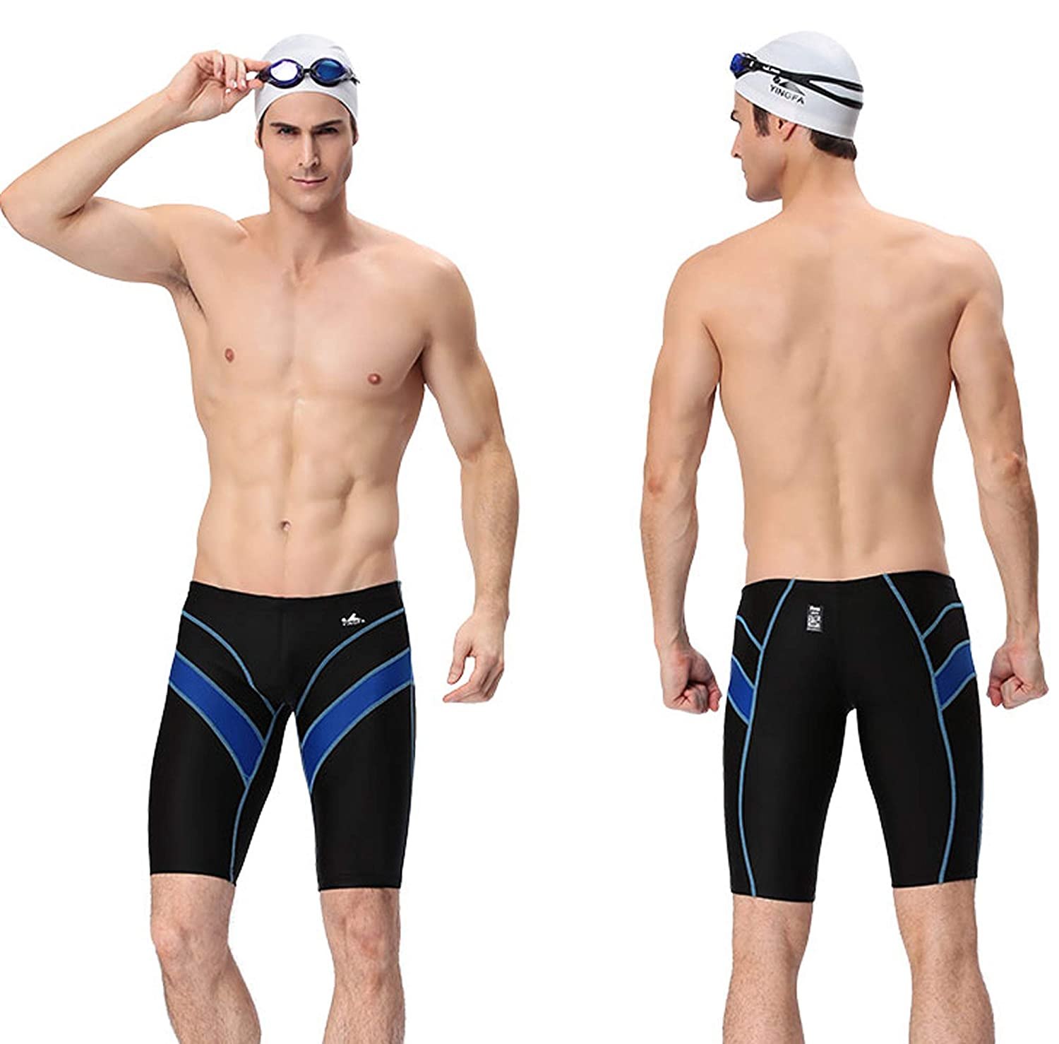 7ef5a9b371 FINA Approved Swimming Jammers Swimming Trunks,Racing Trunks for boy Yingfa  9402-1 China Size XS ...
