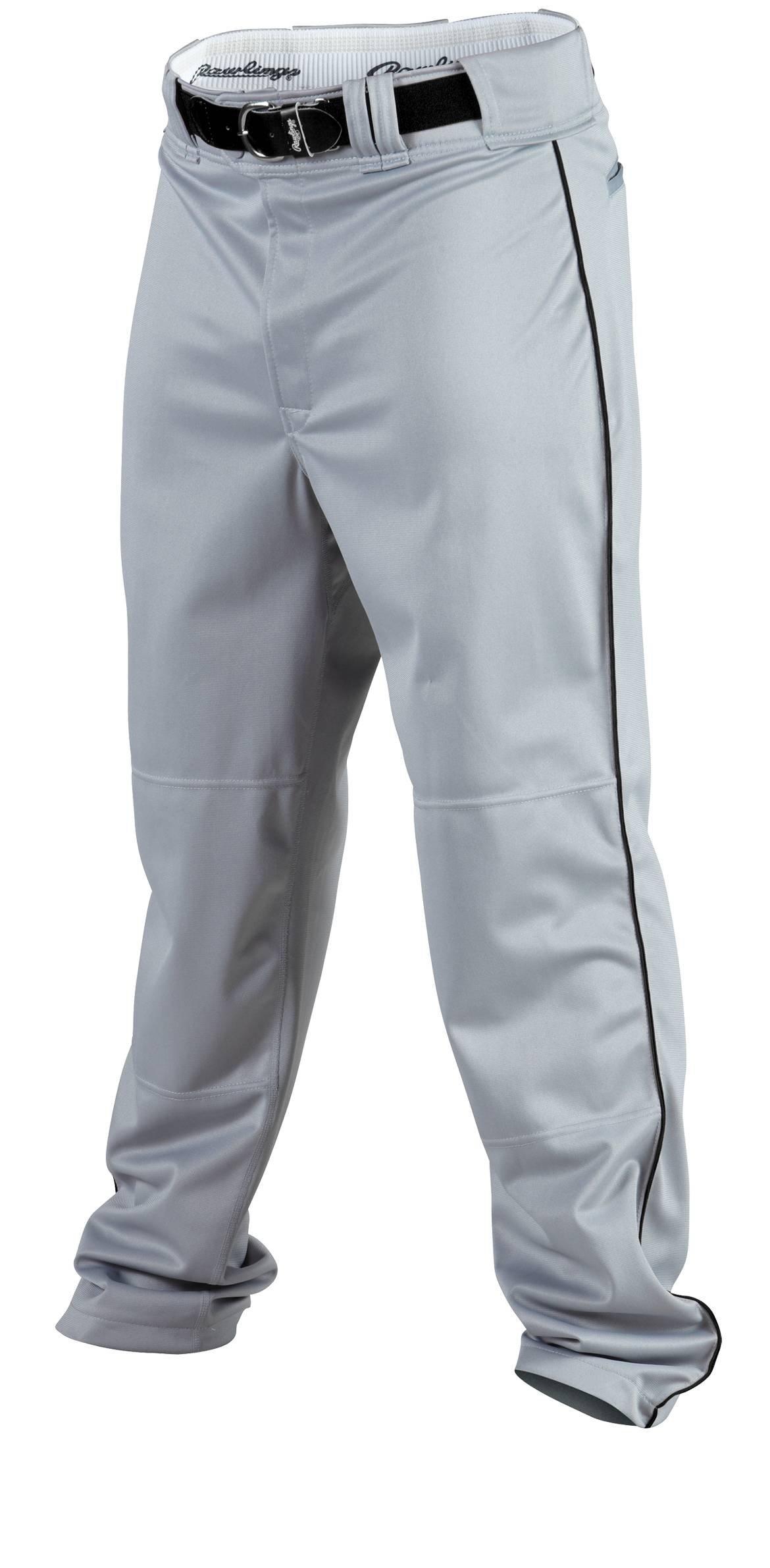Rawlings Youth Baseball Pant (Blue Grey/Black, X-Large) by Rawlings