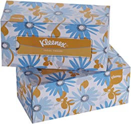 Kleenex Facial Tissue Box, 200 Sheets per Box, 2 Ply, 2 Box Combo, 60037 by Kimberly-Clark