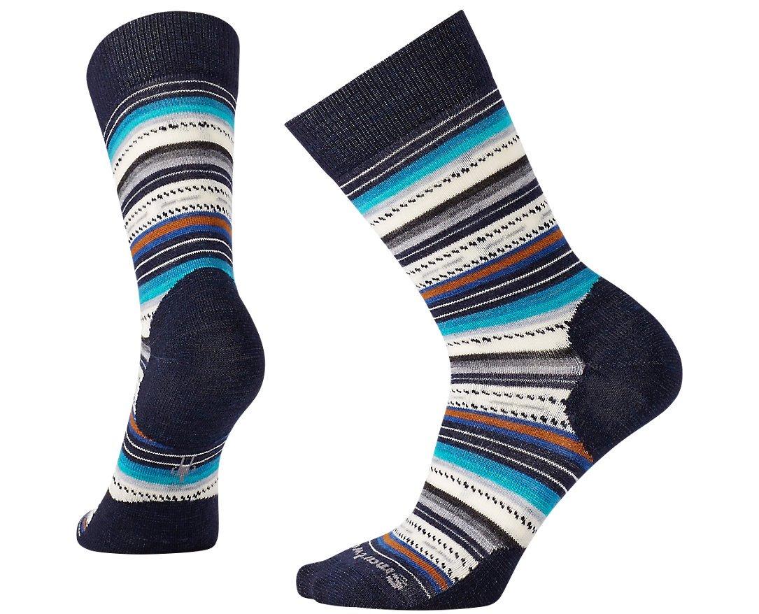 SmartWool Women's Margarita Socks (Deep Navy Heather) Medium