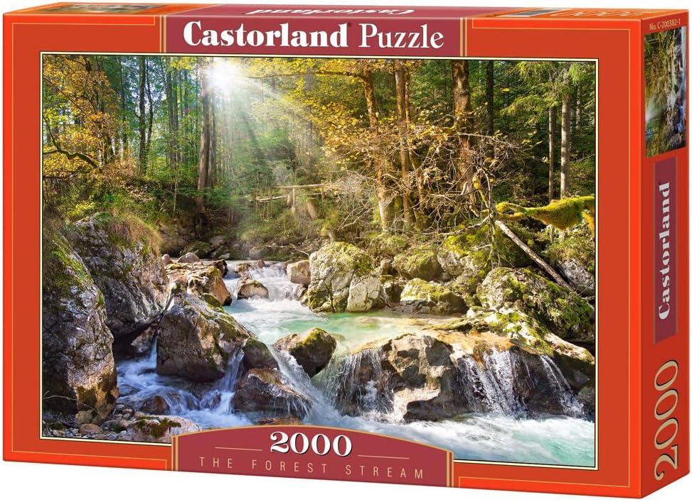 Castorland The Forest Stream Puzzle (2000 Piece)