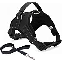 No Pull Dog Harness subjoin Leash,Dog Body Vest Comfort Control Breathable Adjustable,for Small Medium Large Dog,Best…