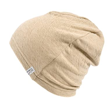 Casualbox Knit Beanie ORGANIC Cotton Beanie for Men and Women MADE In JAPAN  Beige M cb665b3e534