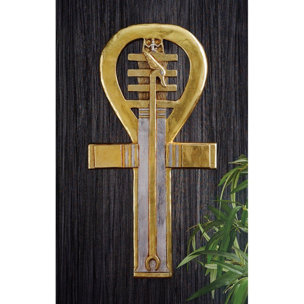 Design Toscano NE68265 the Ancient Ankh, Egyptian Symbol of Life Wall Sculpture