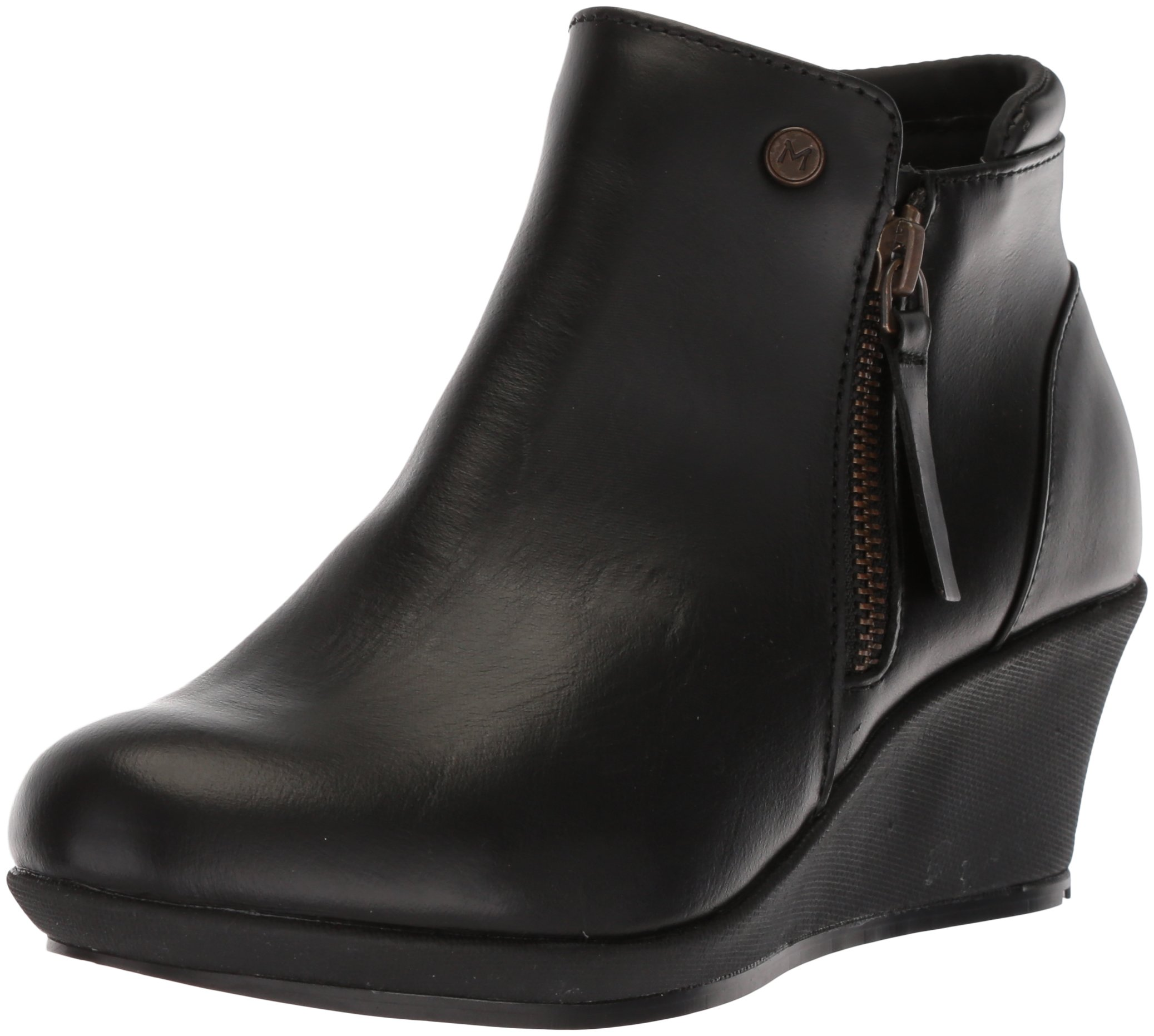 MOZO Women's LOLA Food Service Shoe, Black, 8.5 Medium US by MOZO