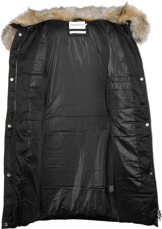 Calvin Klein Jeans Mid Weight Long W Chaqueta de Plumas: Amazon.es: Ropa y accesorios