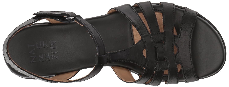 Naturalizer Women's Nanci Flat Sandal B07573LGCR 5.5 B(M) US|Black US|Black US|Black 7d6498