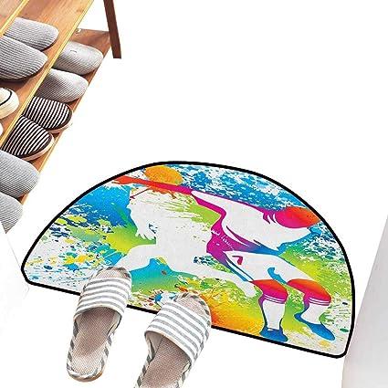 Amazon.com: Axbkl - Felpudo interior para niños, diseño de ...