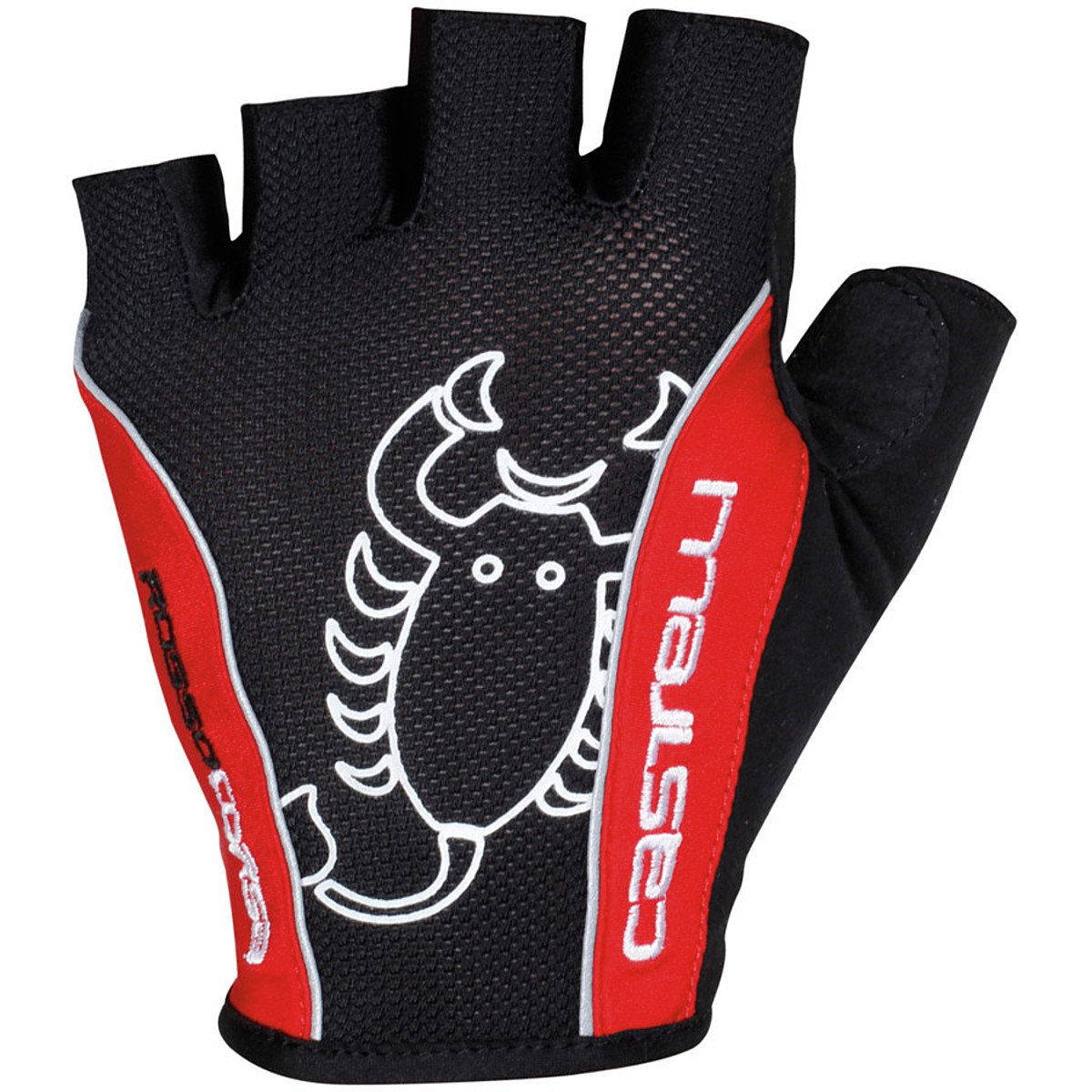 K13032 Castelli 2018 Rosso Corsa Classic Cycling Gloves