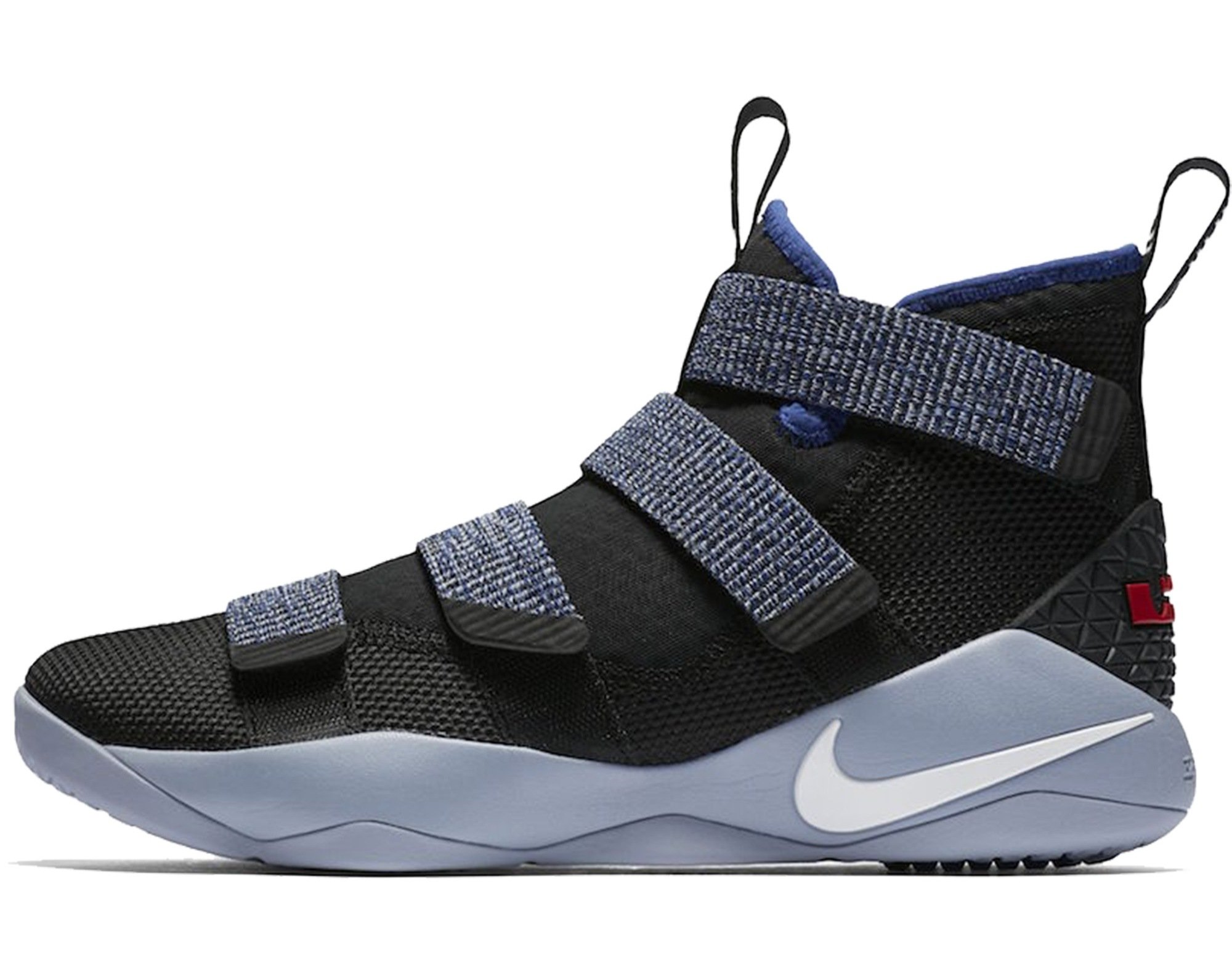 quality design bdefe 341e0 Nike Lebron Soldier XI 11 Little Kids Youth P.S Glacier Grey/Deep Royal  Blue 918368-005 (1)