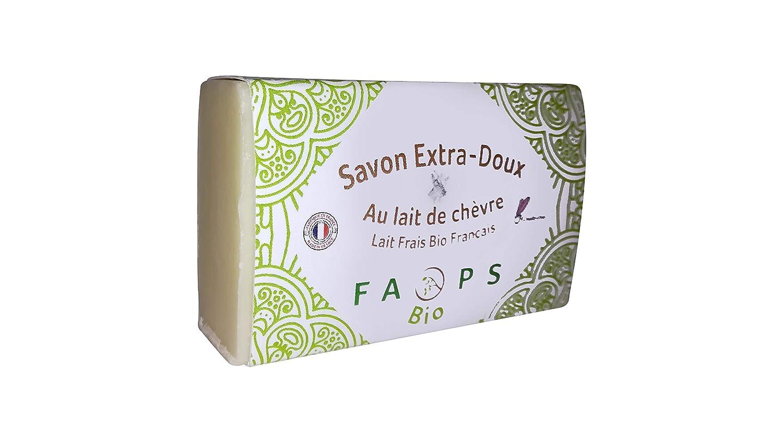 Jabón de leche de cabra fresca bio francés fabricado a mano 100 ...
