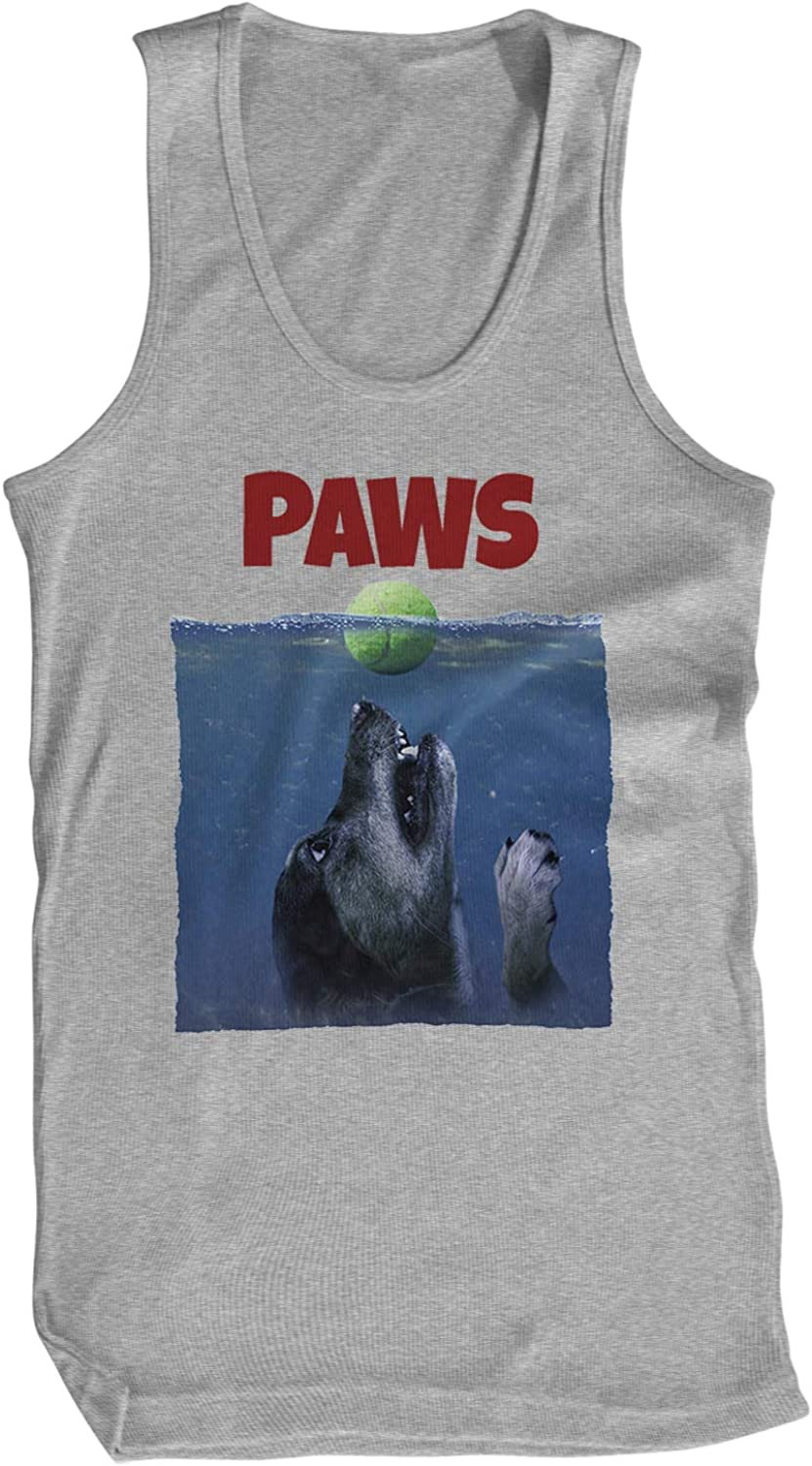 Amdesco Men's Paws Beagle Tank Top