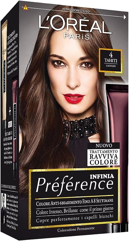 PREFERENCE 4castano - Tintes para el cabello: Amazon.es: Belleza