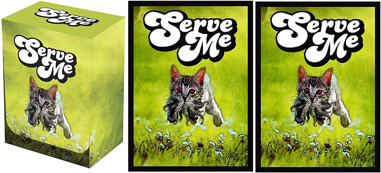 100 Legion Supplies Serve Me Deck Protector Sleeves and Box