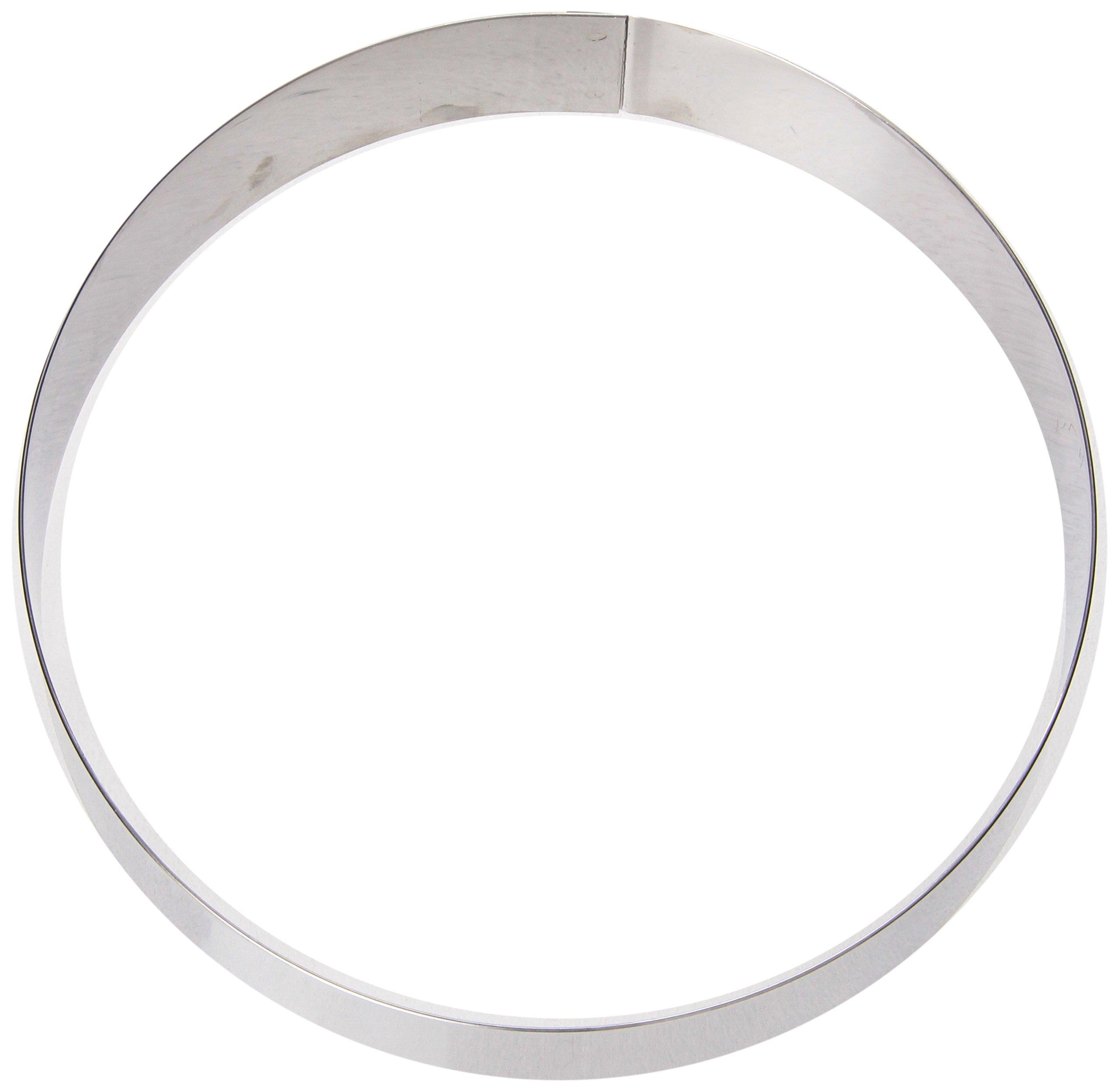 Matfer Bourgeat 371408 Mousse Ring, Silver