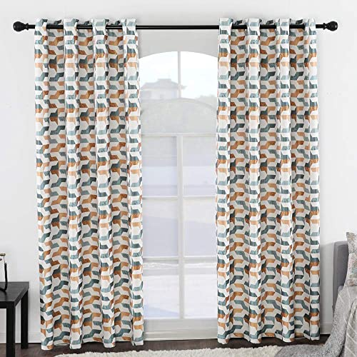 Jarl home 8 Grommets Blackout Curtain