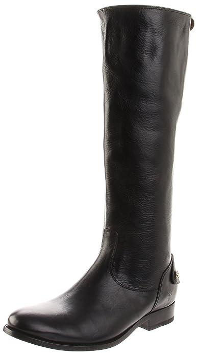 6d75e79ede2 Frye Women s Melissa Button Back Zip Knee-High Boot  Amazon.ca ...