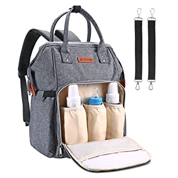8a8f20b8a648 NEXVIN Diaper Bag Backpack Large Capacity Nappy Changing Bag