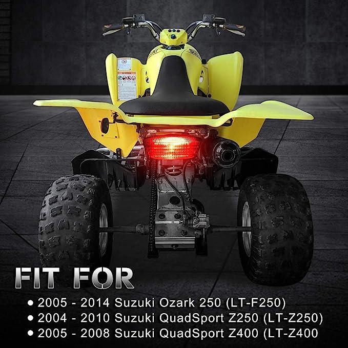 LT-F250 Plastic 12V Taillight Lamp For Suzuki Ozark 250 LT-Z250 QuadSport Z250