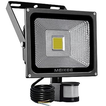 MEIKEE Projecteur LED détecteur de mouvement, 20W 1500LM eclairage ...