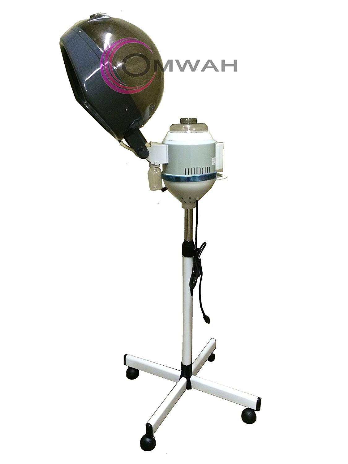 amazon com professional salon hair steamer with rolling floor