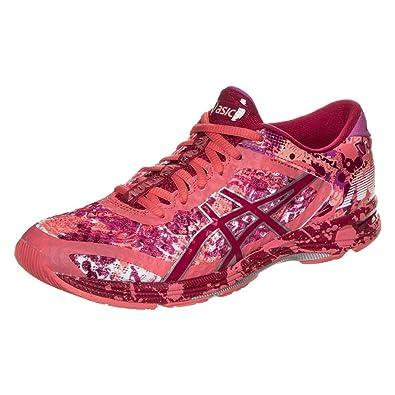 91d5bf3e8e3 ASICS Gel Noosa Tri 11 Women s Pink Glow Sports Running Trainers   Amazon.co.uk  Shoes   Bags