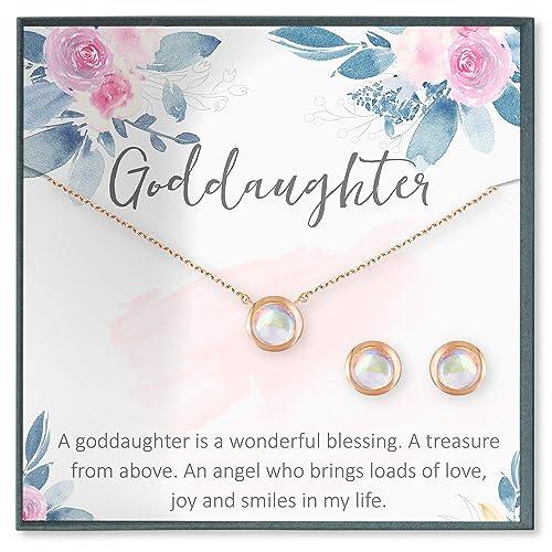 Amazon.com: Collar de regalo para hija de la Gracia de la ...