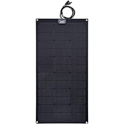 Alternative & Solar Energy Cheap Sale 100w 12v Flexible Solar Panel Kit Caravan Boat Mono Battery Charging Camping Solar Panels