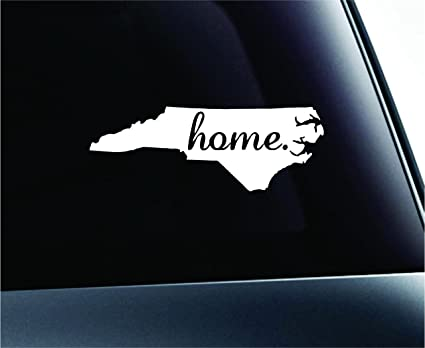 Amazon Home State North Carolina Symbol Decal Family Love Car