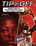 Signed WNBA Cheryl Ford Autographed 2003 Game