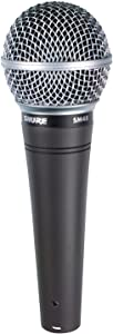 Shure SM48-LC Cardioid Dynamic Vocal Microphone,Gray