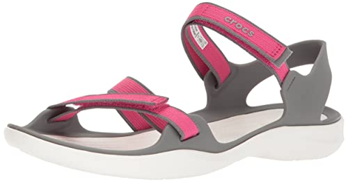 65faa15e157b1 Crocs Women's Swiftwater Webbing W Sport Sandals
