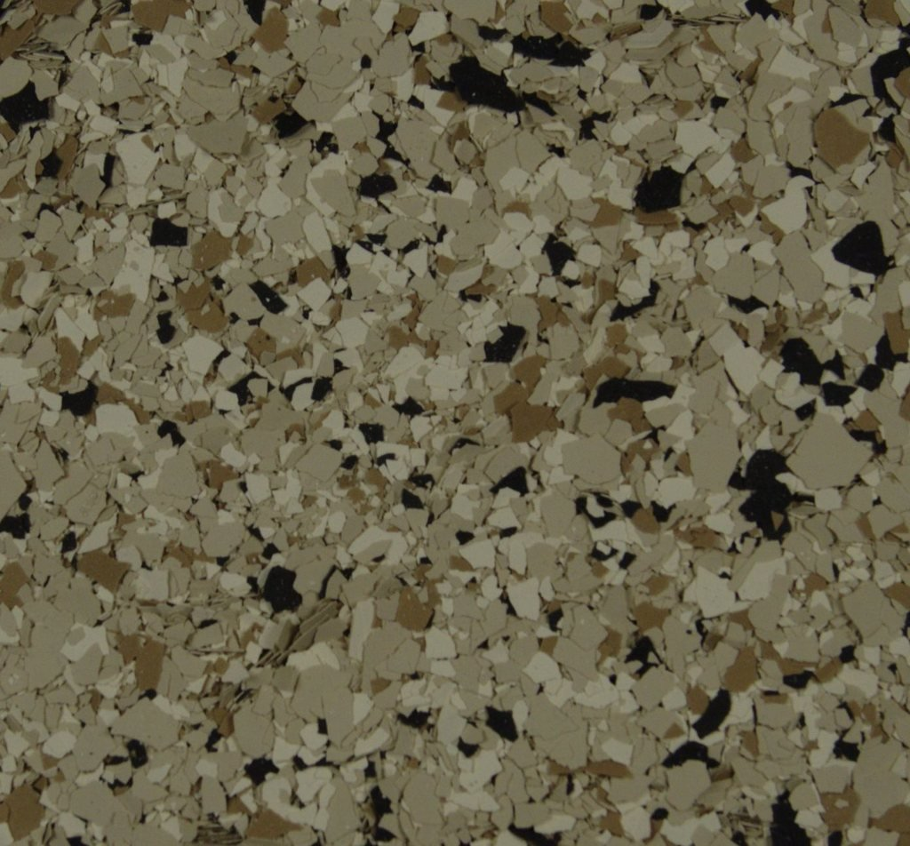 American Abrasive Supply, Vinyl Chip Blend B-421 Shoreline 1/16'' VCPBB4211615