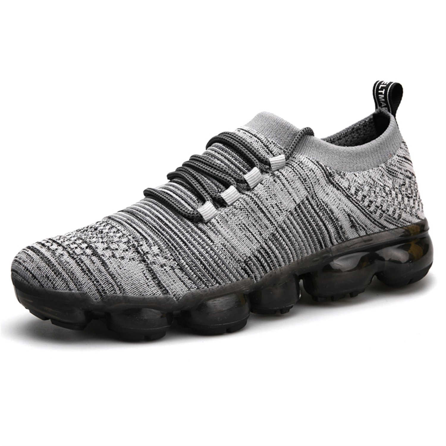 big sale a8334 0db3f Amazon.com   RunWalker Men Air Vapormax Running Shoes Male Cool Multicolor  Sole Fitness Gym Sneakers ...   Shoes