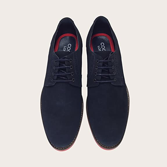 2ffb13b5cb3f Piccadilly Men s Blue Suede Shoes with Red Soles  Amazon.co.uk  Shoes   Bags